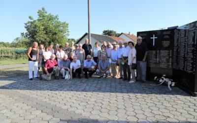 2019 – Delegacija Kirchheim unter Teck – poseta groblju