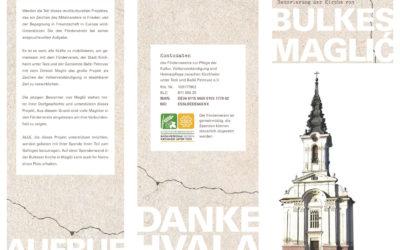 Renovierung der Kirche von Bulkes Maglić