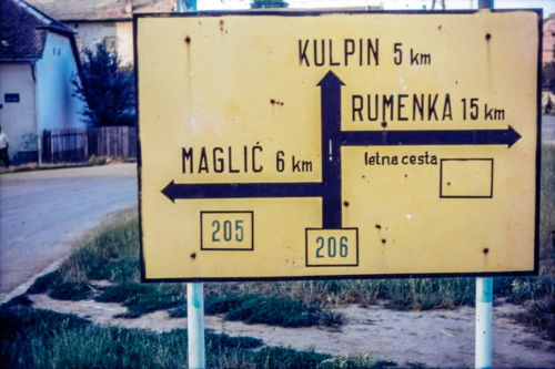 maglić - putokaz