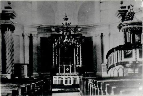 Bulkeser KIrche -Altar 1936